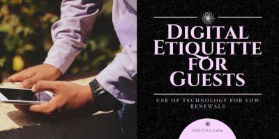 Digital Etiquette for Guests