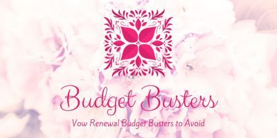 Vow Renewal Budget Busters to Avoid