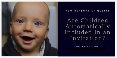 Are Children Automatically Included in an Invitation?