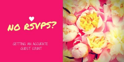 No RSVPs? Getting an Accurate Guest Count