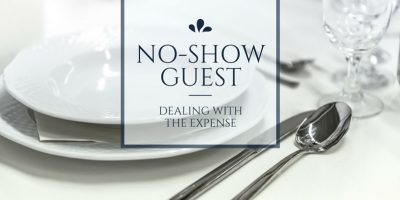 How do we avoid the expense of no-show guests?