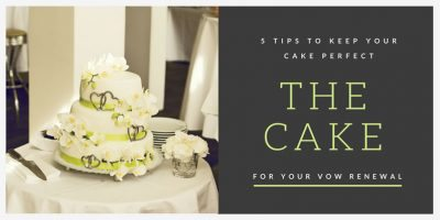 5 Tips to Keep Your Cake Perfect
