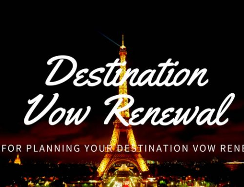 Tips for Planning Your Destination Vow Renewal