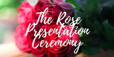 The Rose Presentation Ceremony