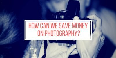 How can we save money on photography?
