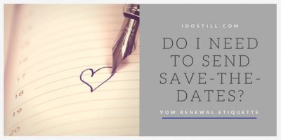 Do I need to send save-the-dates?