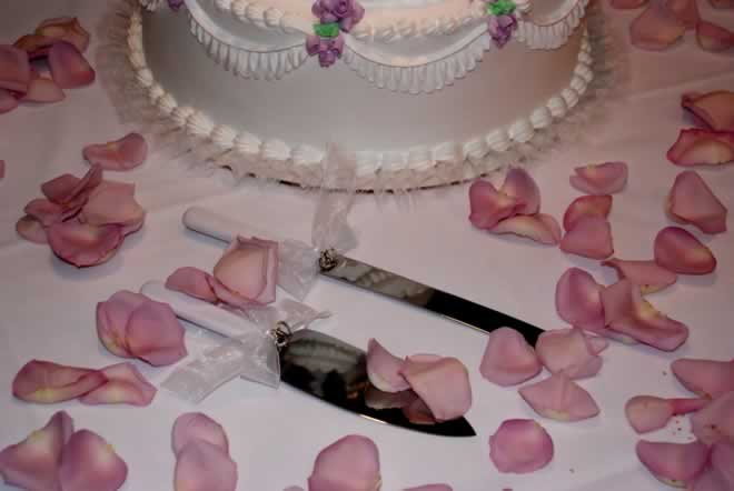 Decorating the Cake Table for Your Vow Renewal
