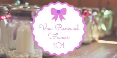 Vow Renewal Favors 101