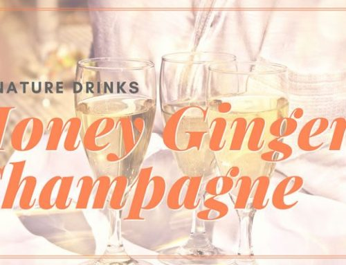 Signature Drinks: Honey Ginger Champagne