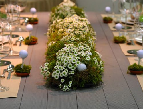 Golf Theme Vow Renewal Ideas