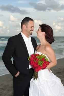 Vows for a Destination Beach Vow Renewal
