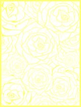 Free White and Yellow Roses Background