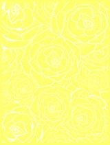 Free Yellow and White Roses Background