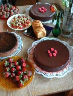 Dessert Buffet for a Vow Renewal Reception