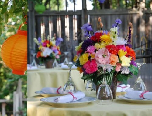 Should I do centerpieces, favors and a cake for a small vow renewal?