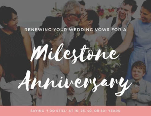 Renewing Your Wedding Vows for a Milestone Anniversary