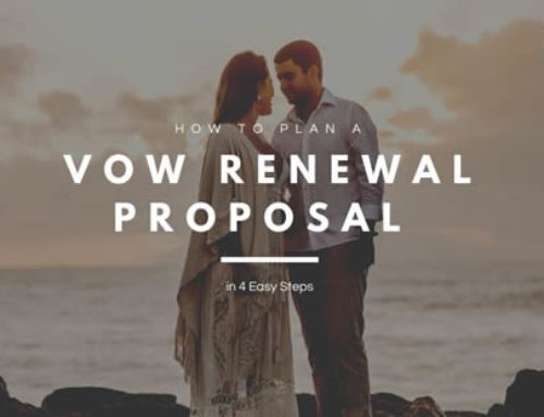 How to Plan a Vow Renewal Proposal in 4 Easy Steps