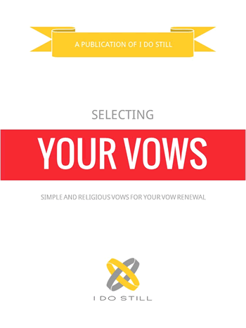 Selecting Your Vows - Simple and Religious eBook