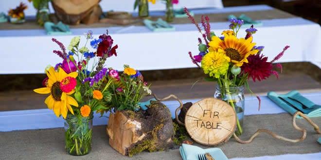DIY Vow Renewal Flowers