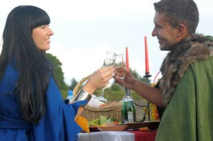 Medieval Theme Vow Renewal