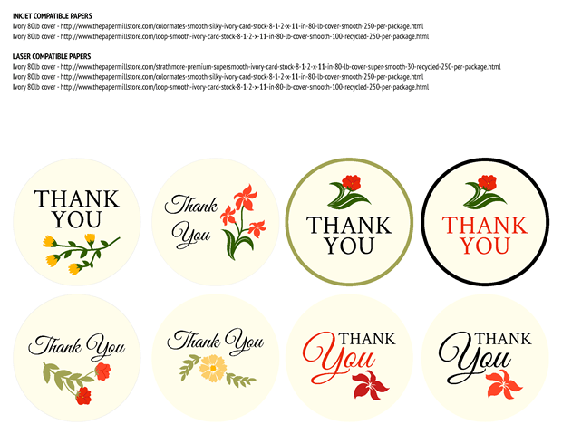 Favor Labels