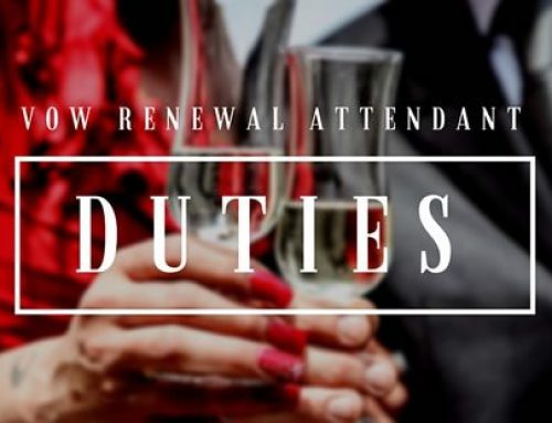 Duties for Vow Renewal Attendants