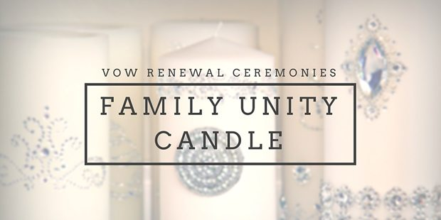 Family Unity Candle Ceremony Ideas