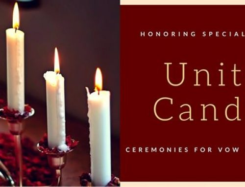 Honoring Special Friends with a Unity Candle Ceremony