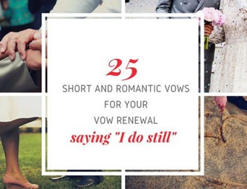25 Short and Romantic Vows