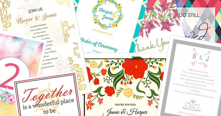 invitations and stationery for your vow renewal