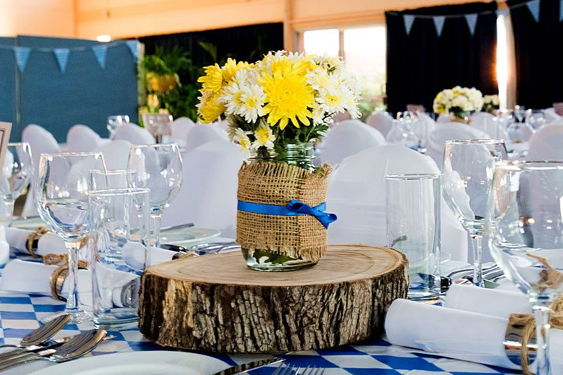 Rustic Centerpieces For Your Vow Renewal I Do Still