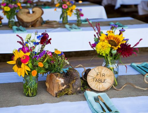 Rustic Centerpieces for Your Vow Renewal