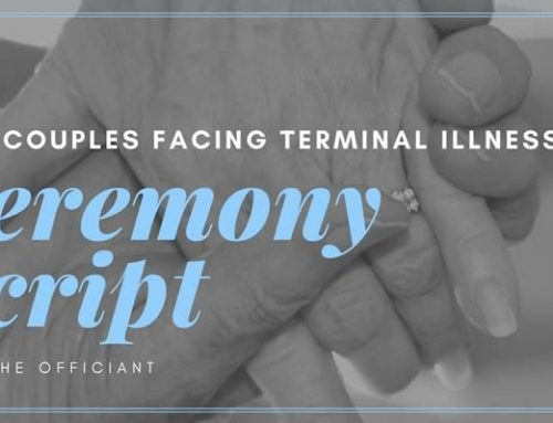 Vow Renewal Ceremony Script for Couples Facing Terminal Illness